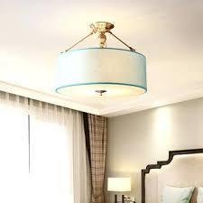 chandelier lamp shades drum chandelier 4 light brass fabric shade bedroom modern for