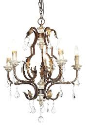 wood and crystal chandelier antique wrought iron crystal chandelier with golden leafs and wood candle cups