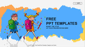 cute powerpoint background 50 free cartoon powerpoint templates with characters illustrations