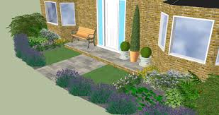 Small Picture Design for a small front garden in Longstanton Gardners Gardens