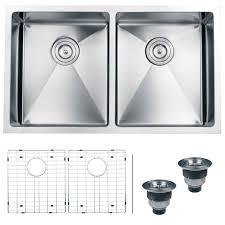ruvati rvh7401 undermount 16 gauge kitchen sink double bowl 32 stainless steel com