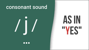 The phonetic alphabet used for confirming spelling and words is quite different and far more complicated to the phonetic alphabet used to confirm pronunciation and word sounds , used by used by linguists, speech therapists, and language teachers, etc. Consonant Sound J As In Yes American English Pronunciation Youtube