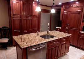 Sample Image. Kitchen Island With Dishwasher And Sink