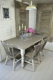 shabby chic round table and 4 chairs grey white shabby chic dining table with 4 chairs