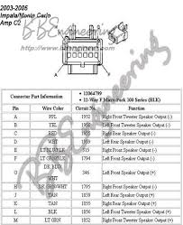 2005 chevy impala amp wiring diagram wiring diagram image gallery of 2005 chevy impala amp wiring diagram
