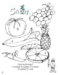 Vegetable Coloring Sheets Vegetable Coloring Sheets Free Fruit And