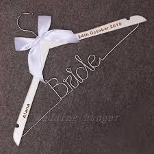 Bride Wire Hanger Personalized Wire Hanger Bride Personalized