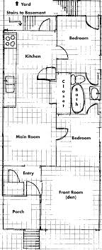 20 feet wide home plans