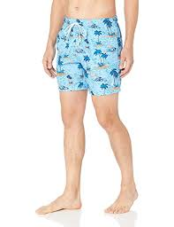 Nautica Swim Trunks Size Chart Nautica Mens Quick Dry Hawaiian Fish Swim Trunk