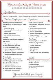 resume sample format yangoo org resume template for stay at home sample resume for stay at home mom 5 samples job sample resume resume template for stay