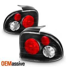 Dodge Neon Brake Light Fits 95 99 Dodge Plymouth Neon Jdm Black Tail Brake Lights Lamp Pair Left Right