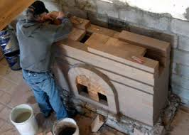 building the baffle system for a masonry fireplace