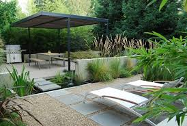 Small Picture Designing a Contemporary Garden with Warmth Garden Design