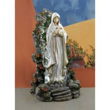 Small Picture Design Toscano Blessed Virgin Mary Illuminated Garden Grotto