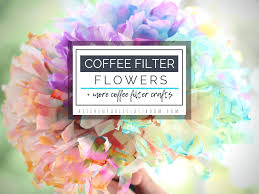 This is such a fun and quick winter craft for the kids to do this year! Coffee Filter Flowers Other Easy Coffee Filter Crafts The Kitchen Table Classroom