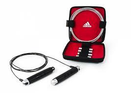 Купить <b>Набор со скакалкой в</b> кейсе Adidas черно-красный по ...