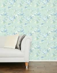 violetta duck egg wallpaper home