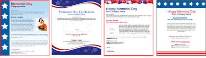 Memorial Day Templates Honor The Sacrifices Of Our Military