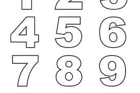 Ecco Tanti Disegni Con I Numeri Da Colorare