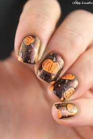 25+ gorgeous Pumpkin nail art ideas on Pinterest | Fall nail art ...