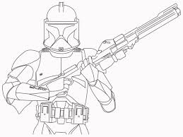 Small Picture clone trooper coloring pages