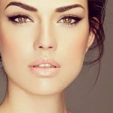 perfect wedding makeup since i eye shadow simple cat eye and mascara source