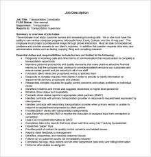 Customers Service Job Description Customer Service Job Description Templates 15 Free Sample