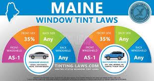 maine tint laws 2020 2021 car