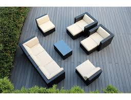 cover for outdoor furniture. Amazon.com: Ohana 10-Piece Outdoor Patio Furniture Sectional Conversation Set, Black Wicker With Beige Cushions - No Assembly Free Cover: Garden Cover For E