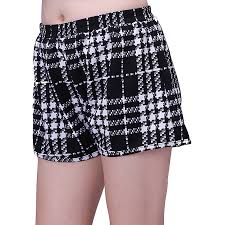 Womens Patterned Shorts Amazing HDE Womens Plus Size Shorts Patterned Casual Pull On Elastic Waist