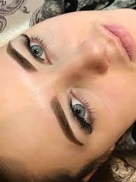 перманентный макияж бровей техника напыление