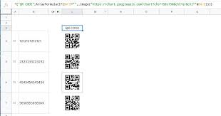 Custom Function Qrcode Stopped Working Docs Editors Help