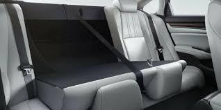 2018 honda accord rear seats folded