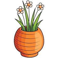 Vase Mit Blumen Clipart Kostenloser Download Creazilla