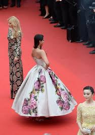 35 Fashion Moments From The Cannes Red Carpet via Relatably.com