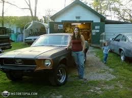 1968 Ford Mustang coupe id 20495