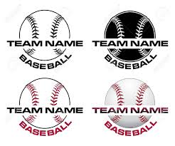 Baseball Designs Baseball Designs With Team Name Is An Illustration Of A Four