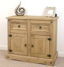 Mexican Pine Living Room Furniture Mercers Furniturear Corona Mexican Pine Small 2 Door 2 Drawer Sideboard
