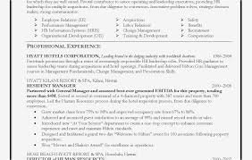 Entry Level Hr Resume Fresh Human Resource Entry Level