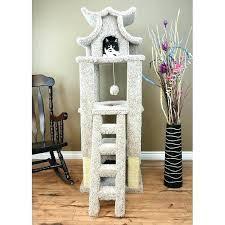 cool cat tree furniture. Cat Tower With Litter Box Fancy Plush Design Designer Furniture . Cool Tree