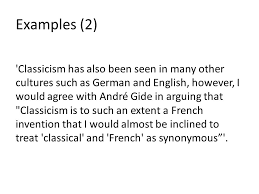 french essay feedback classicism and phedre ppt  6 examples