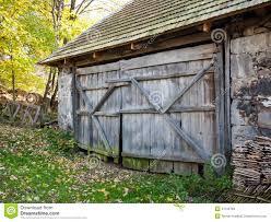 Rustic barn door stock photo. Image of construction, natural ...