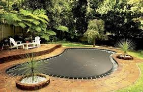 in ground trampoline. How To Put A Trampoline In The Ground N