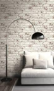 pelican prints distressed brick wallpaper
