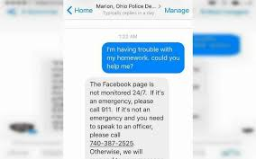 year old turns to police for help math homework officer  when a police officer in marion ohio saw this unusual request he decided to help the 5th grader lt bj gruber 42 asked lena what the problem was and