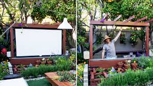Backyard, DIY Outdoor Movie Theater: Mesmerizing diy outdoor ideas
