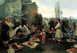 Пасха в славянской традиции Википедия Славянские традиции Пасхи править править код