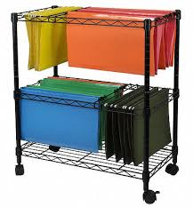 office rolling cart. portable file cart 2 tier home business rolling office document organizer