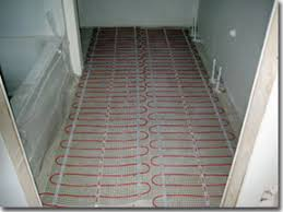 heated tile floors in bathrooms. comforttile mats installed for heated bathroom floor. tile floors in bathrooms