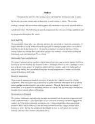 Preface 40 Magnificent Resume Preface